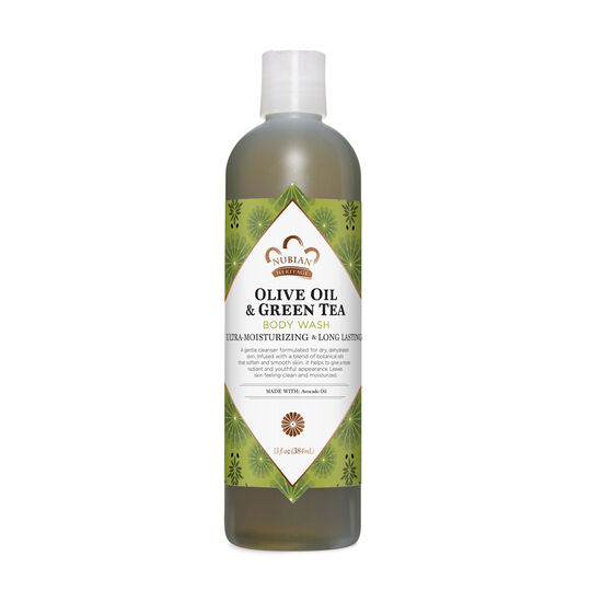 Olive Oil & Green Tea Body Wash