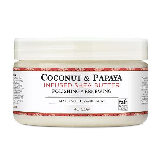 Coconut & Papaya Infused Shea Butter
