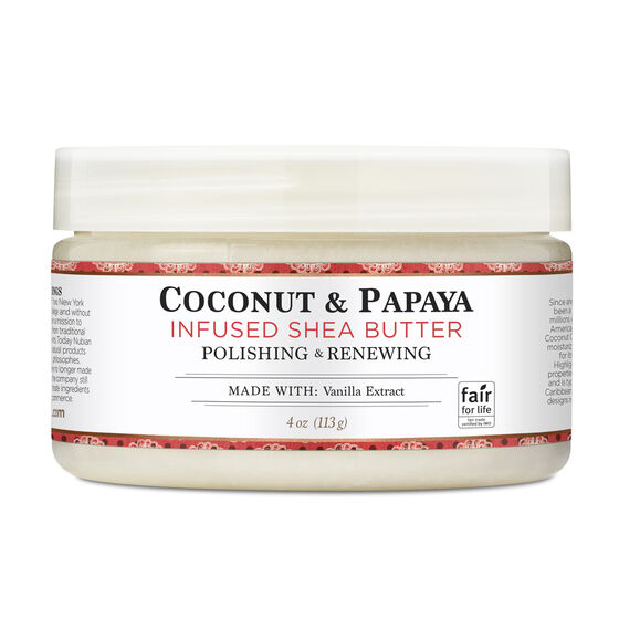 Coconut & Papaya Infused Shea Butter