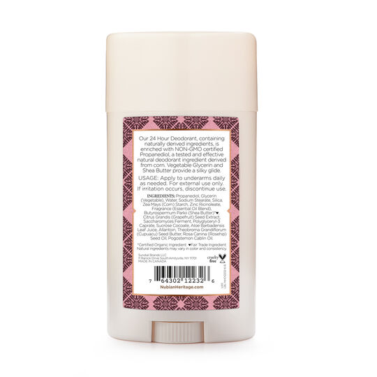 Patchouli & Buriti 24 Hour Deodorant
