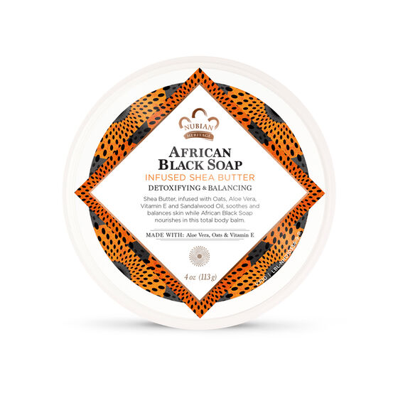 African Black Soap Infused Shea Butter