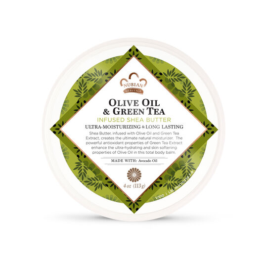 Olive Oil & Green Tea Infused Shea Butter