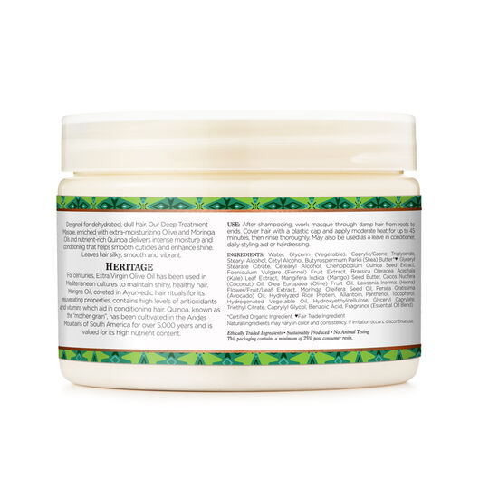 Olive Oil Vegan Deep Conditioning Masque