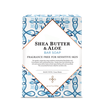 Shea Butter & Aloe Bar Soap