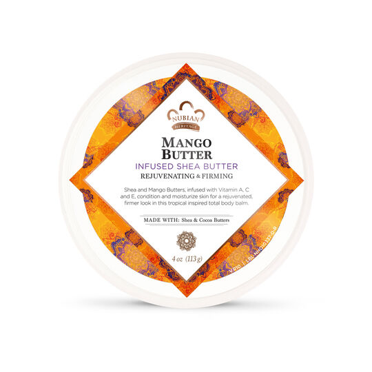 Mango Butter Infused Shea Butter