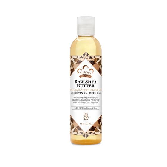 Raw Shea Butter Bath, Body & Massage Oil