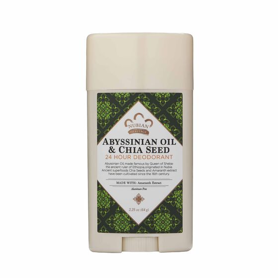 Abyssinian Oil & Chia Seed 24 Hour Deodorant