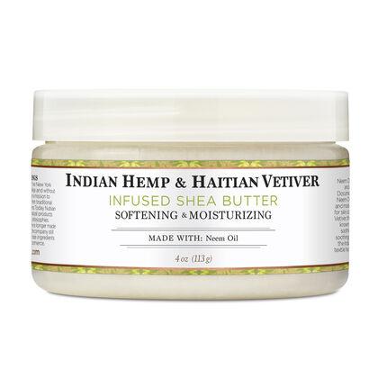 Indian Hemp & Haitian Vetiver Infused Shea Butter