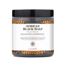 African Black Soap Mud Mask