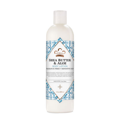 Shea Butter & Aloe Body Lotion (Fragrance Free)