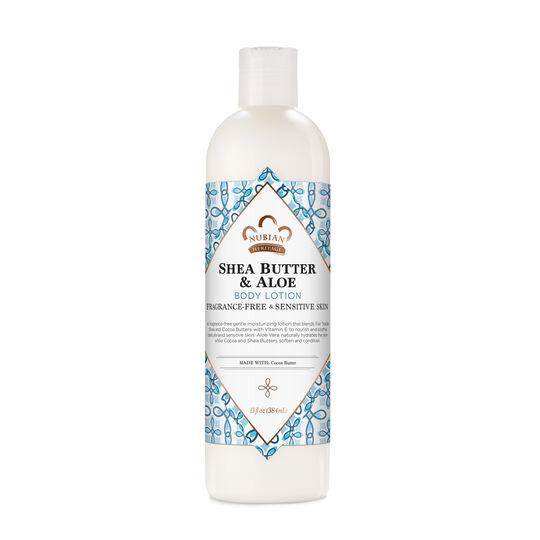 Shea Butter & Aloe Body Lotion (Fragrance Free)