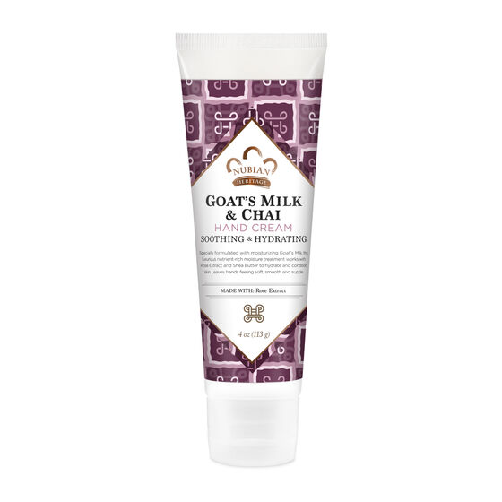 Goat's Milk & Chai Hand Cream