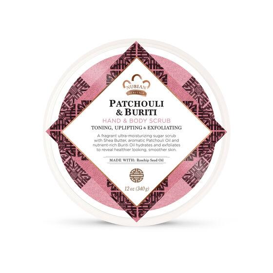 Patchouli & Buriti Hand & Body Scrub