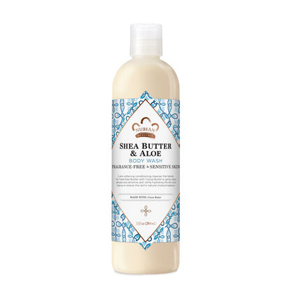 Shea Butter & Aloe Body Wash (Fragrance Free)