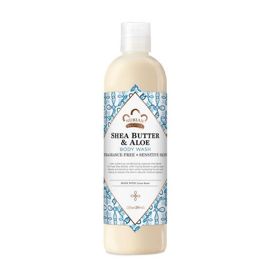 Shea Butter & Aloe Body Wash (Fragrance Free)