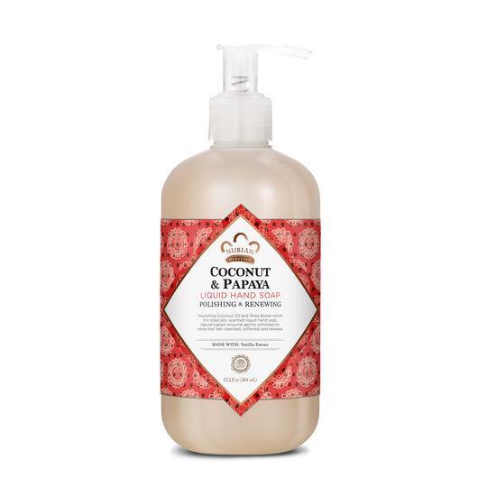 Coconut & Papaya Liquid Hand Soap