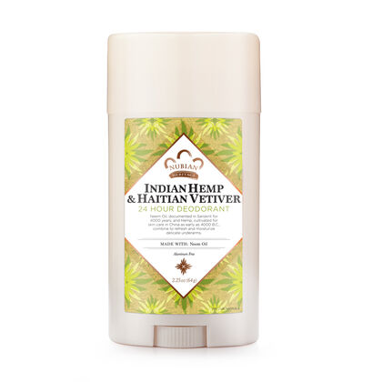 Indian Hemp & Haitian Vetiver 24 Hour Deodorant