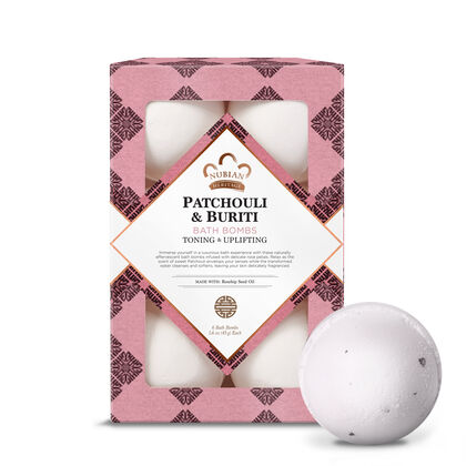 Patchouli & Buriti Bath Bombs