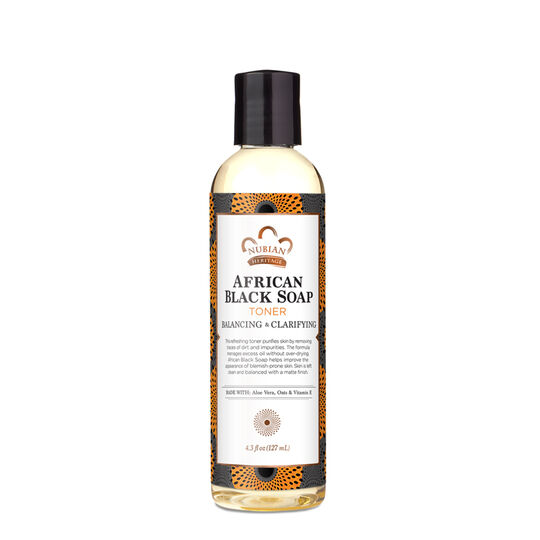 African Black Soap Facial Toner