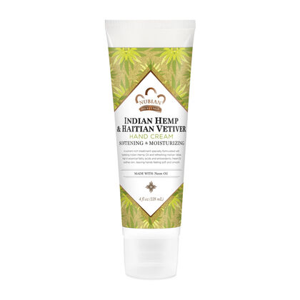 Indian Hemp & Haitian Vetiver Hand Cream