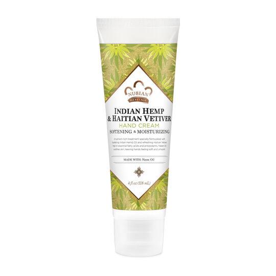 Indian Hemp & Haitian Vetiver Hand Cream