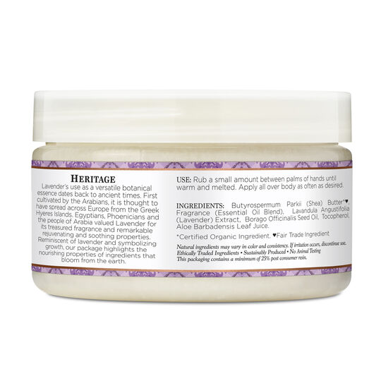 Lavender & Wildflowers Infused Shea Butter