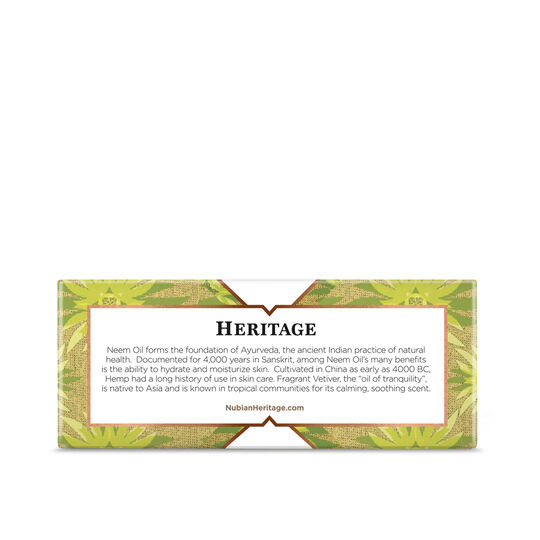 Indian Hemp & Haitian Vetiver Bar Soap