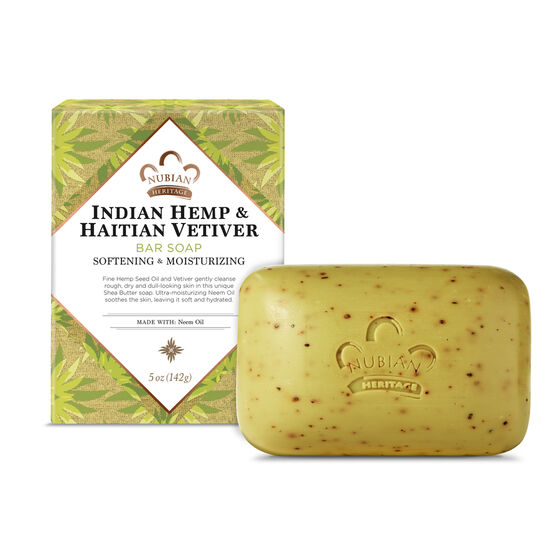 Indian Hemp & Haitian Vetiver Bar Soap
