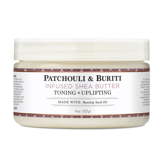 Patchouli & Buriti Infused Shea Butter