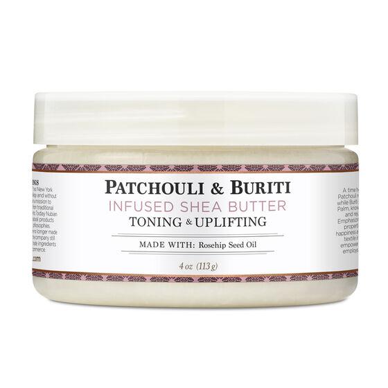Patchouli & Buriti Infused Shea Butter