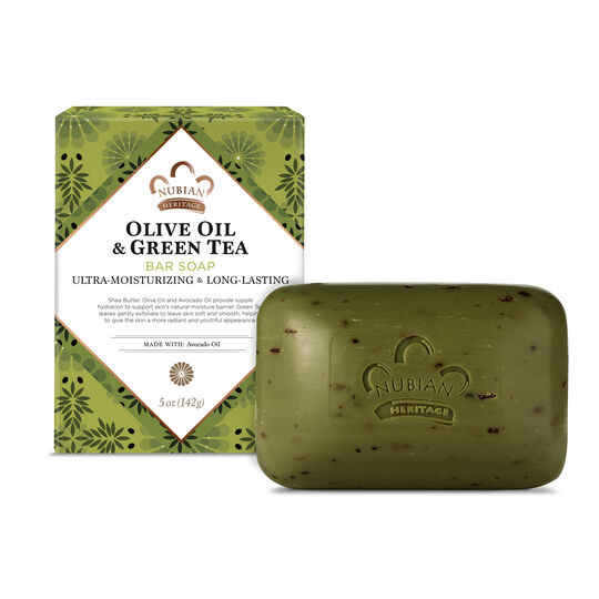 Olive Oil & Green Tea Bar Soap