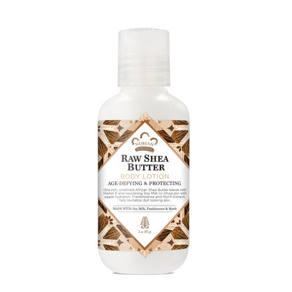 Travel Size Raw Shea Butter Body Lotion