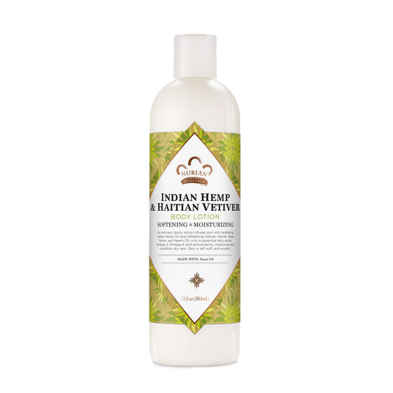 Indian Hemp & Haitian Vetiver Body Lotion