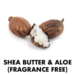 Shea Butter & Aloe (Fragrance Free)